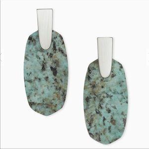 Kendra Scott Aragon African Turquoise Earrings